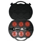 Amber Knight Pod LED Hazard Lights