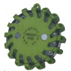 KB55 - Green Single Knight Pod Hazard Light + Charger