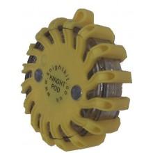 KB55 - Yellow Single Knight Pod Hazard Light + Charger