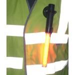 Traffic wand as a personal safety light